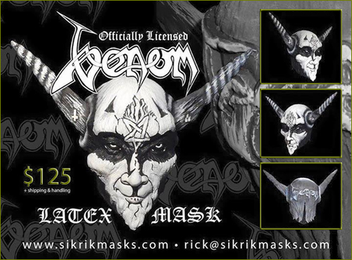 99cee6acef98 ... who designed and created most of the Venom artwork, including the  original 'Black Metal' and 'Welcome To Hell' albums sleeves etc, he gave  his seal of